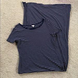 Large Dress Striped